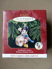 Hallmark Keepsake Ornament - Bandleader Mickey Holiday Parade series Disney 1997