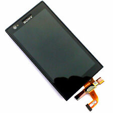 100% Genuine Sony Xperia P LT22i Digitalizzatore Touch Screen + Display LCD + Telaio Anteriore