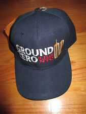 GROUND ZERO 9.11.01 NYC New York City (Adjustable Snap Back) Cap w/ Tags
