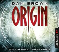 """Hörbuch """"Origin"""" von Dan Brown (2017) *NEU*OVP*"""