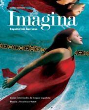 IMAGINA Espanol Sin Barreras (Student Activities Manual), Jose A Blanco, Good Bo
