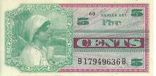 MPC Series 661 5 Cents Military Payment Certificate Note #36B Choice CU Currency
