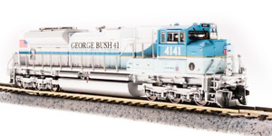Broadway Limited 3474 EMD SD70ACe UP #4141 George Bush 41st President  Sd N MIB