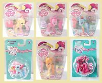 BNIB My Little Pony Fluttershy Rainbow Dash Pinky Pie AppleJack Ponyville