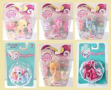 BNIB My Little Pony Fluttershy Rainbow Dash Pinky Pie AppleJack Ponyville