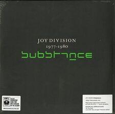 JOY DIVISION SUBSTANCE 1977-1980 DOPPIO VINILE LP 180 GRAMMI NUOVO E SIGILLATO !