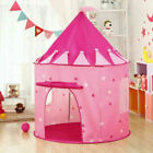 Play Tent Girls House Castle Foldable Princess Indoor Pink Kids Children Toys A+