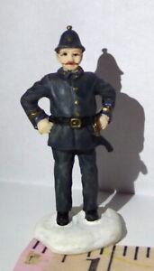 Grandeur Noel Victorian Village English Bobby Police Officer 2002 Policeman