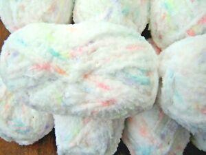 Sirdar SNUGGLY SNOWFLAKE CHUNKY knitting yarn 20 x 25g white multi