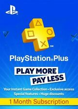 Playstation PLUS 1 mese (2x14) Compatibile con- PS4 - PS3 - PS Vita