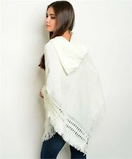 Women's  Hooded poncho