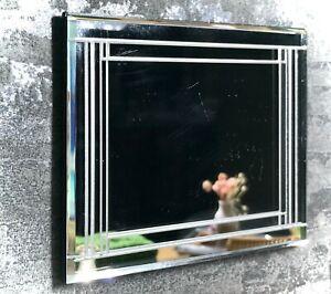 1:12 Dollhouse miniature Venetian large beveled wall mirror