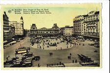CPA-Carte postale-Belgique - Bruxelles -Place Rogier et gare du Nord - S1000
