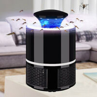 LED Elektrische Moskito Killer Lampe Fliegen Bug Insekt Zapper Trap Licht USB