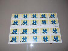 #3979 2005 TRUE BLUE US POSTAGE STAMPS 20  N/D  MINT MNH Booklet/Pane
