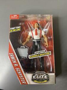 NEW! WWE Mattel Elite Collection Flashback Irwin R Schyster Action Figure 2015