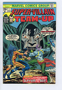Super-Villain Team-Up #1 Marvel 1975