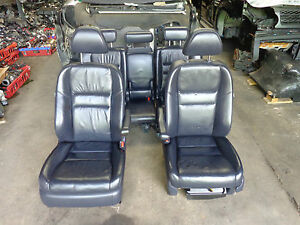 2008 HONDA CR-V COMPLETE INTERIOR LEATHER SEATS FRONT & REAR WITH DOOR CARDS