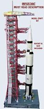 Launch Umbilical Tower LUT Model for Estes,4D Vision 1:100  Saturn V, PLS READ!