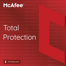 McAfee Total Protection 2020 - 1 to 5 years (code/key or subscription)