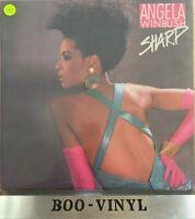 ANGELA WINBUSH 'Sharp' Vinyl LP Album US PRESS 1987 - EX+ Con