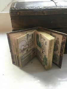 Dolls House Readable Book Witches Gemlore Halloween