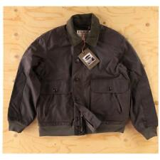 Filson Ranger Oil Cloth Bomber Orca Gray New Size M Coated Cotton