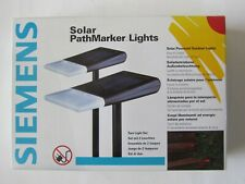 New listing Siemens Solar PathMarker Lights Outdoor Lighting Modern Light Design (2 Lights)