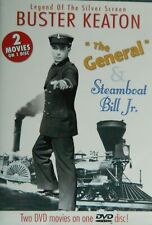 2 Buster Keaton Comedies The General (1927) Steamboat Bill Jr (1928) Sealed Dvd