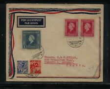 Netherlands  Indies  nice cover to  Canada   1947     GP0324