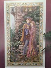 ROMEO & JULIET Cross Stitch Pattern Chart ONLY L391 ROMANCE Vintage LOVERS