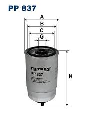 Kraftstofffilter - Filtron PP837