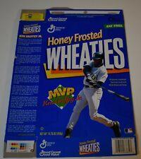 Original 1998 Wheaties KEN GRIFFEY JR MVP Cereal Box (Flat)