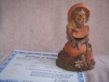 Tom Clark Gnome Julius retired orange 1985 Coa