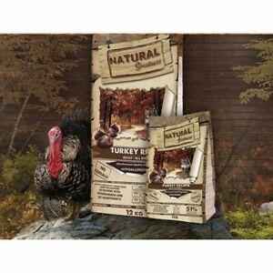 Pienso Perros Natural Greatness Pavo Saco 2 kg 12 kg Comida Alimento Seco