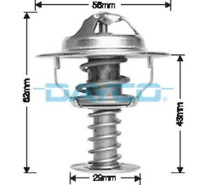 Thermostat for Toyota Avalon 1MZ-FE Jul 2000 to Mar 2006 DT21A