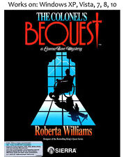 The Colonel's Bequest 1989 PC Game Colonels