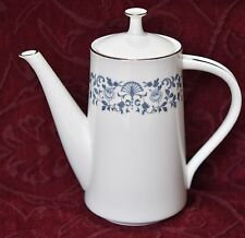 NORITAKE COFFEE POT - ROYAL BLUE - #2700