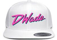 White Dwyane Wade Miami Vice City D Wade Snapback Hat
