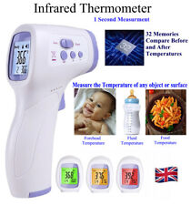 Infrared Thermometer Non-Contact Digital Forehead Adult/Baby Temperature IRGun