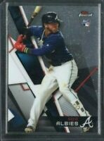 2018 Topps Finest Extended SP #103 Ozzie Albies RC Atlanta Braves Rookie Card