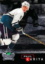 1995-96 Parkhurst Crown Collection Silver Series 1 #4 Paul Kariya
