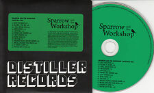 SPARROW & THE WORKSHOP Crystals Fall 2010 UK 13-track promo CD