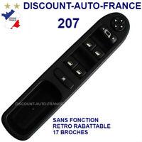 Peugeot 207 commutateur commande interrupteur bouton leve vitre   6554QG