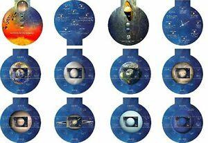 Turkey 2020 Solar System Planets Space Booklet of 8 Miniature sheets in  Booklet