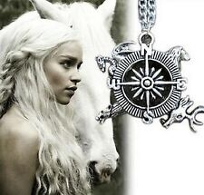 Free Gift Bag Silver Plated Game Of Thrones Pendant Necklace Jewellery Xmas