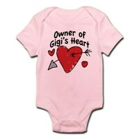 CafePress OWNER OF GIGI's HEART Infant Bodysuit Baby Bodysuit (349286385)