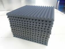 "Acoustic Studio Soundproofing Foam Panels Wedge/Pyramid (12) 24"" x 24"" x 1.5"""