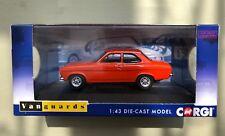 CORGI VANGUARDS 1:43 VA09523 FORD ESCORT Mk1 MEXICO SEBRING RED Limited Edition