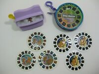 View-Master 3D Viewer and 2 Sets of Reels w/Case Aladdin and WinX